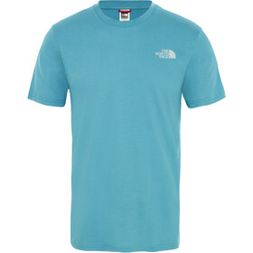 The North Face Simple Dome S/S Tee Men storm blue
